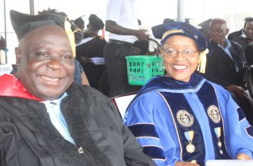 (L-R) Dr. Thomas Jay and Former President Dr. Ophelia Inez Weeks