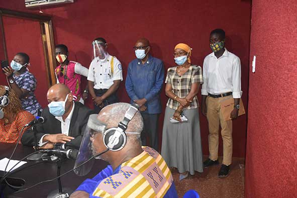 Spot interview with Dr. Nelson and team following the relaunching of Lux FM 106.5