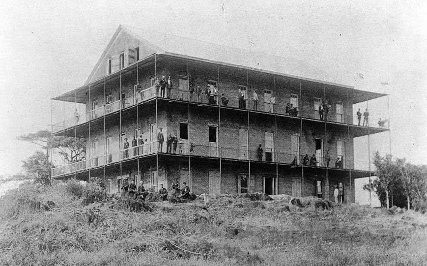 Liberia College, now University of Liberia, in 1893