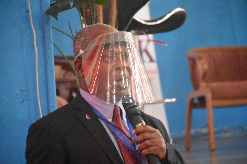 Rev. Dr. Julius J.S. Nelson, Jr., President of the University of Liberia