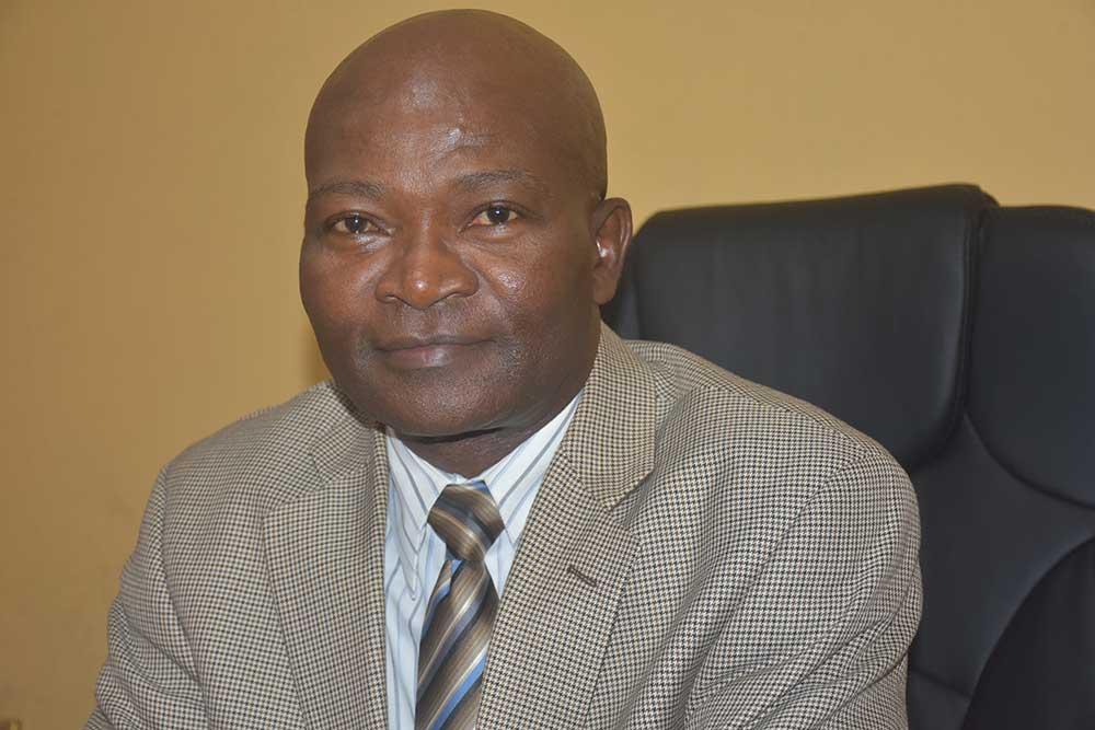 Dr. Moses Monroe Zinnah, Vice President for Academic Affairs, University of Liberia