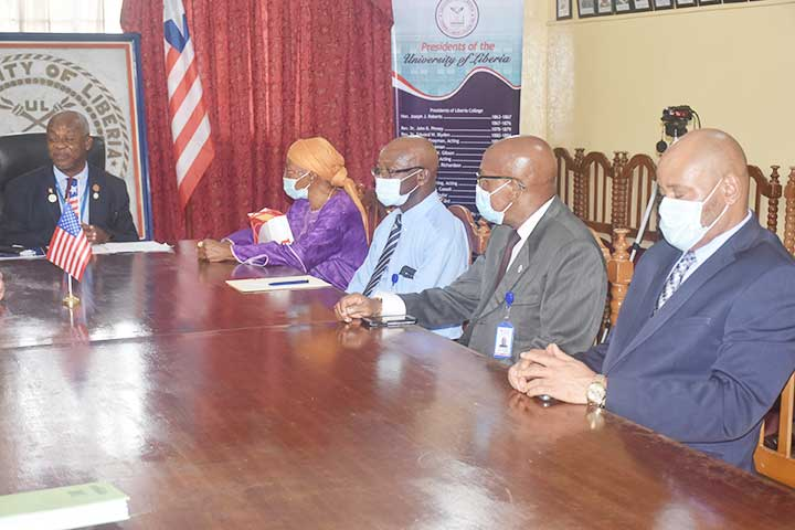 Amb. McCarthy Pays Dr. Nelson a courtesy visit